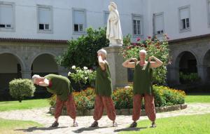 Englevridning yoga